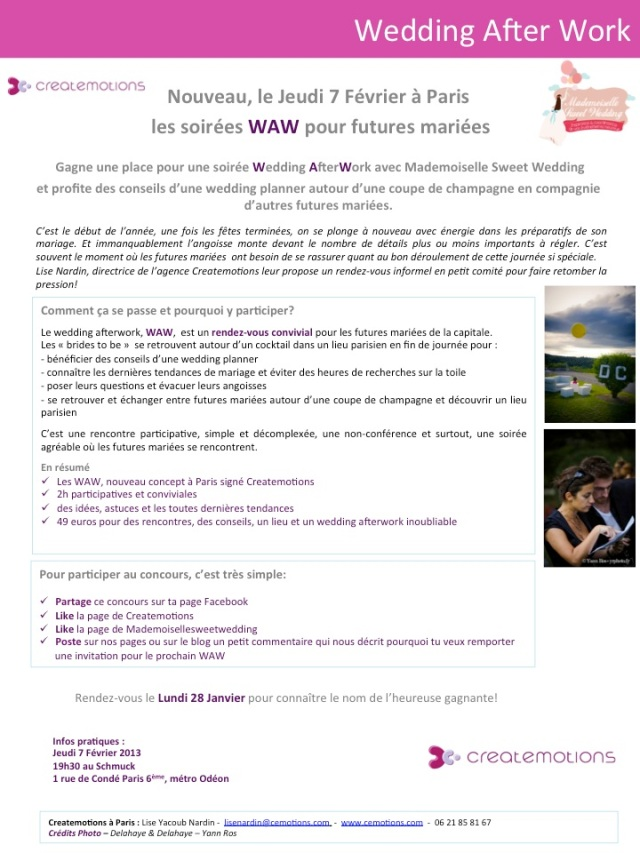 Concours WAW MSW